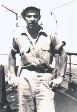Chuck Betsworth in 1949