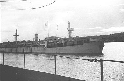 SS Queens Park at Balboa